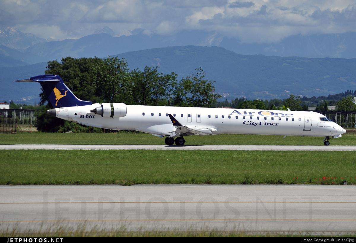 EI-DOT - Bombardier CRJ-900ER - Air One CityLiner