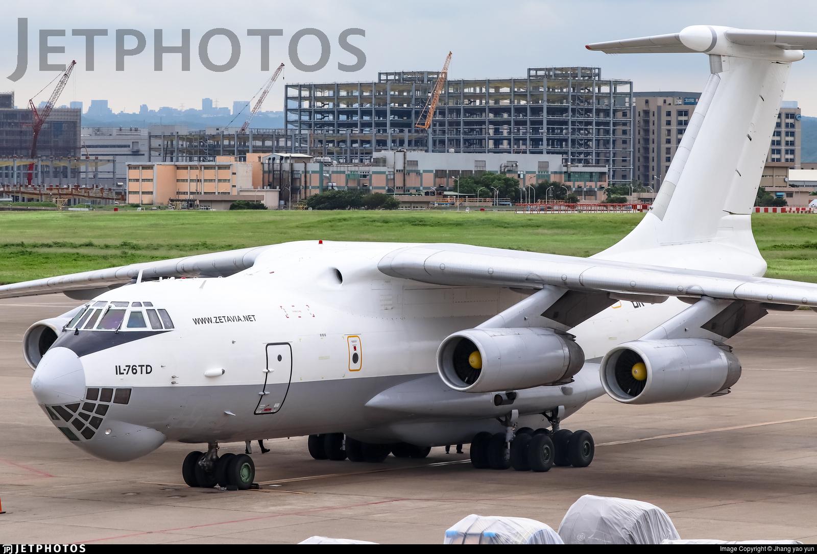 UR-CTU - Ilyushin IL-76TD - Zet Avia