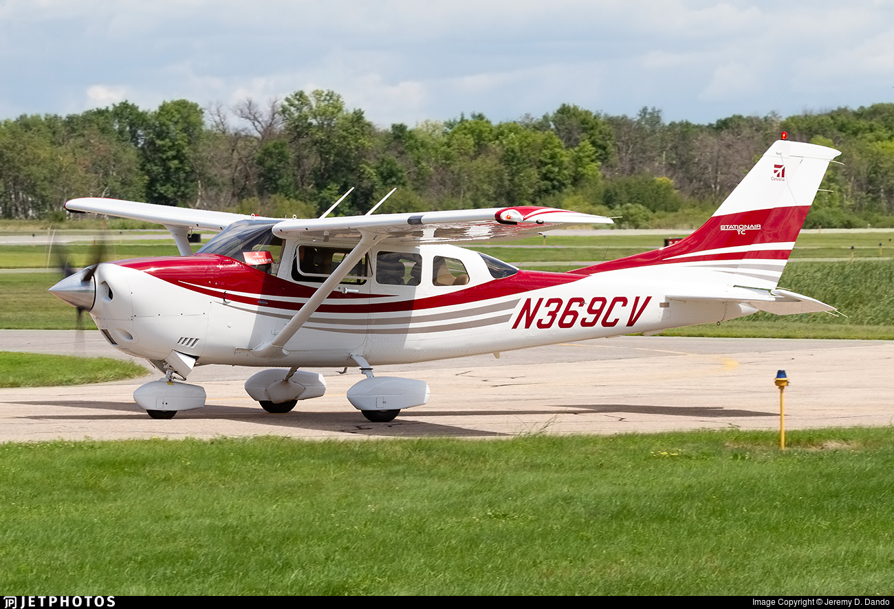 N369CV - Cessna T206H Turbo Stationair - Private
