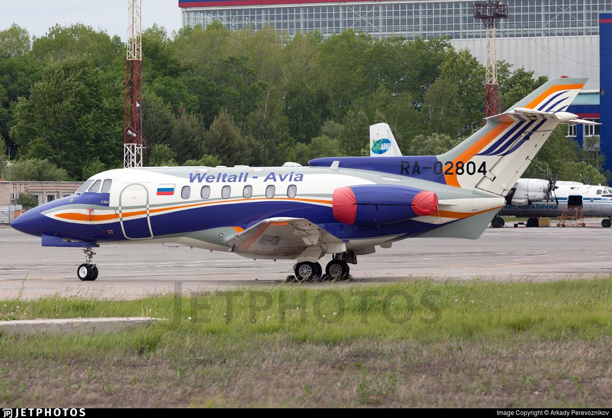 RA-02804 - Hawker Siddeley HS-125-700B - Weltall-Avia