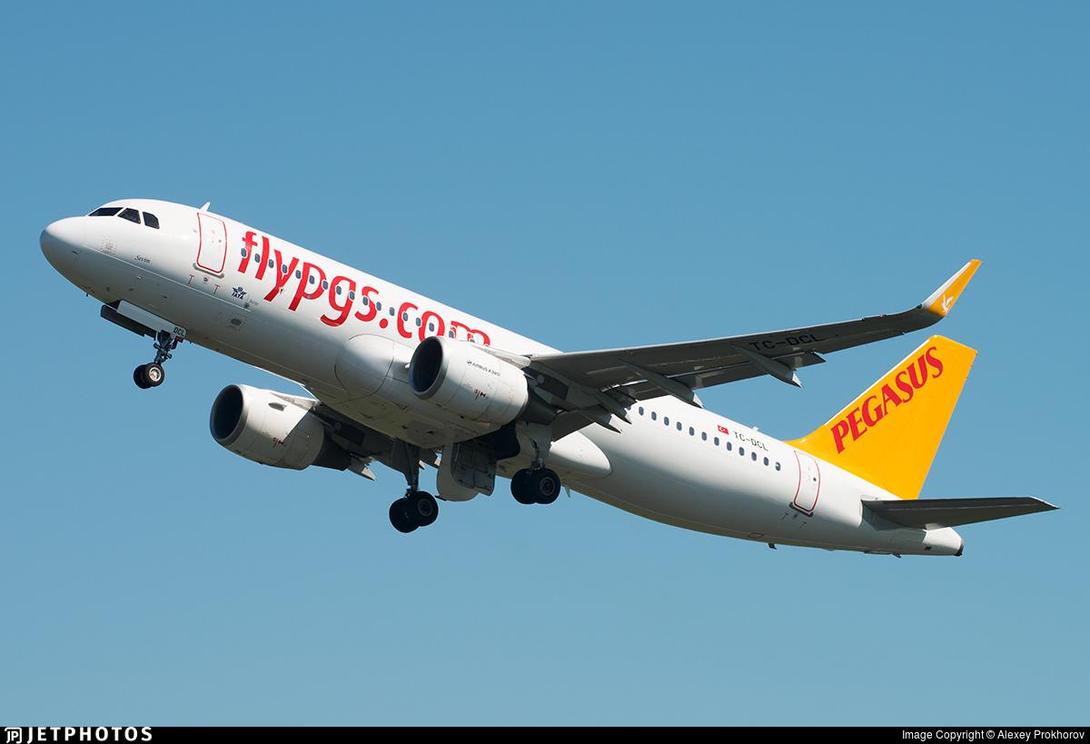 TC-DCL - Airbus A320-214 - Pegasus Airlines