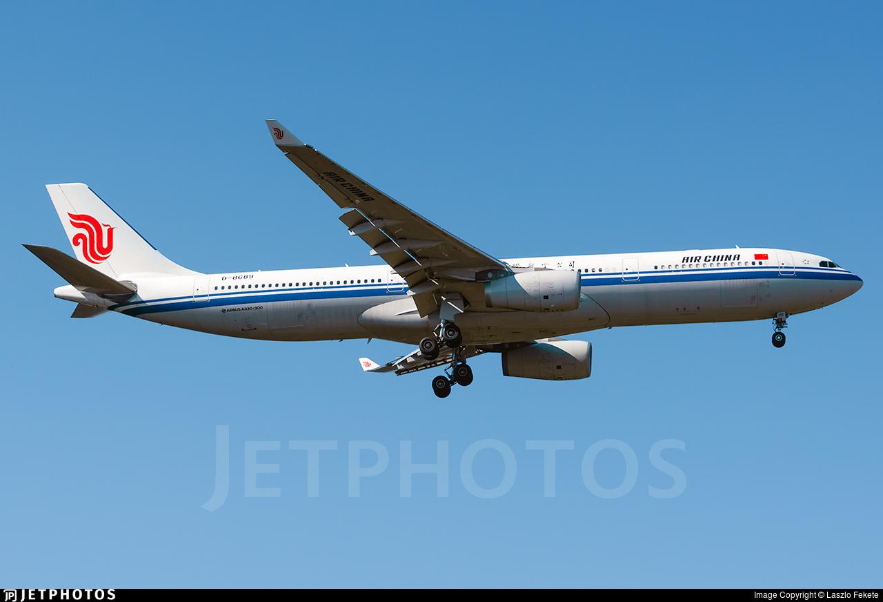 B-8689 - Airbus A330-343 - Air China