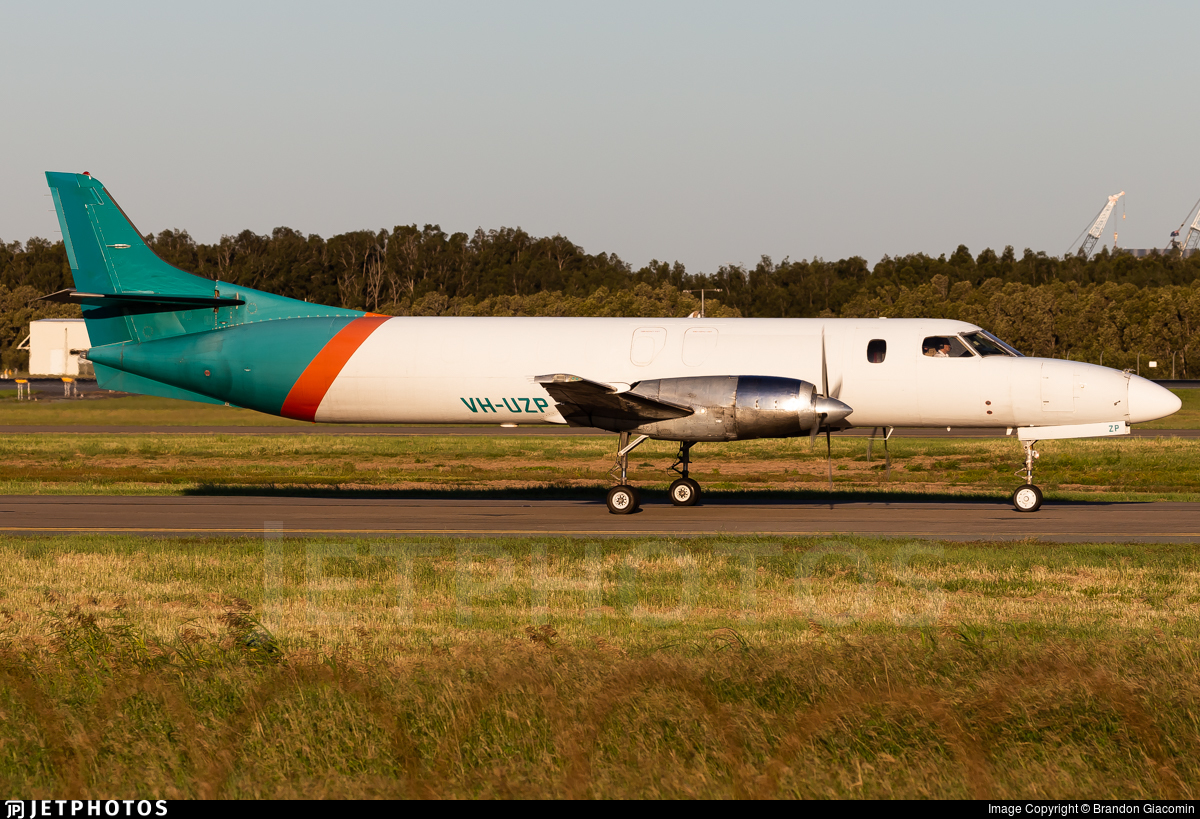 VH-UZP - Fairchild SA227-AC Metro III - Toll Aviation