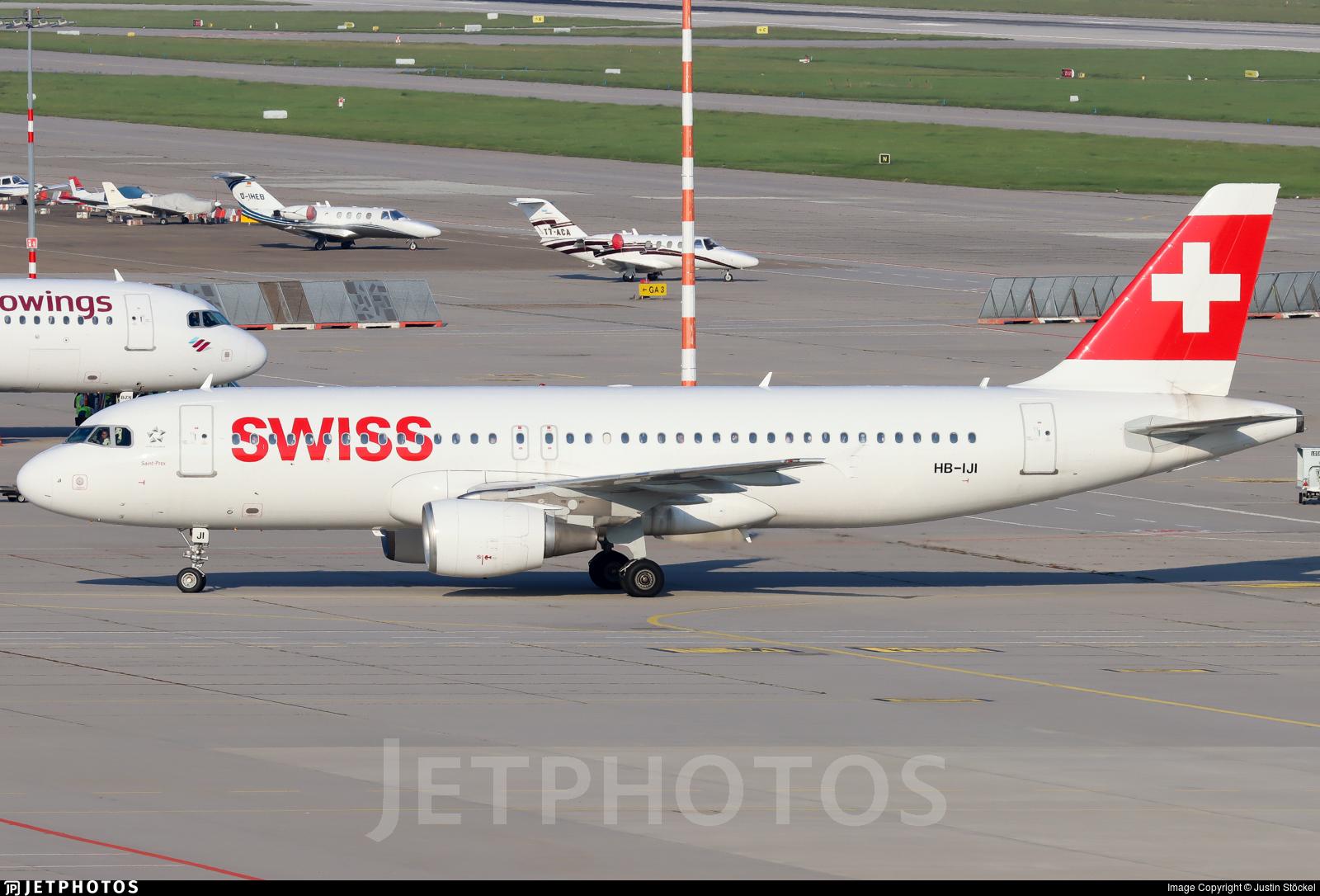 HB-IJI - Airbus A320-214 - Swiss