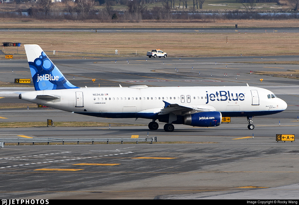 N534JB - Airbus A320-232 - jetBlue Airways