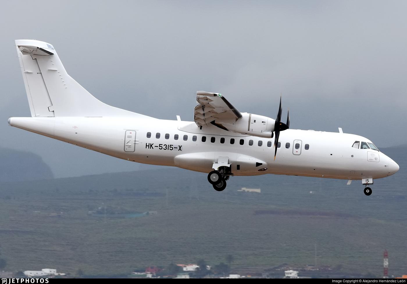 HK-5315-X - ATR 42-600 - EasyFly