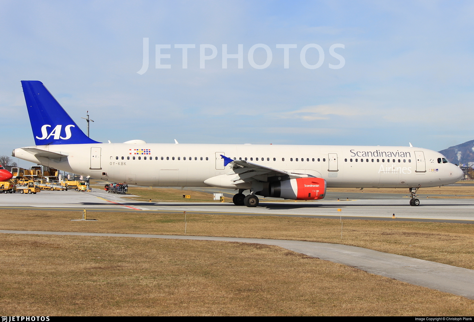 OY-KBK - Airbus A321-232 - Scandinavian Airlines (SAS)