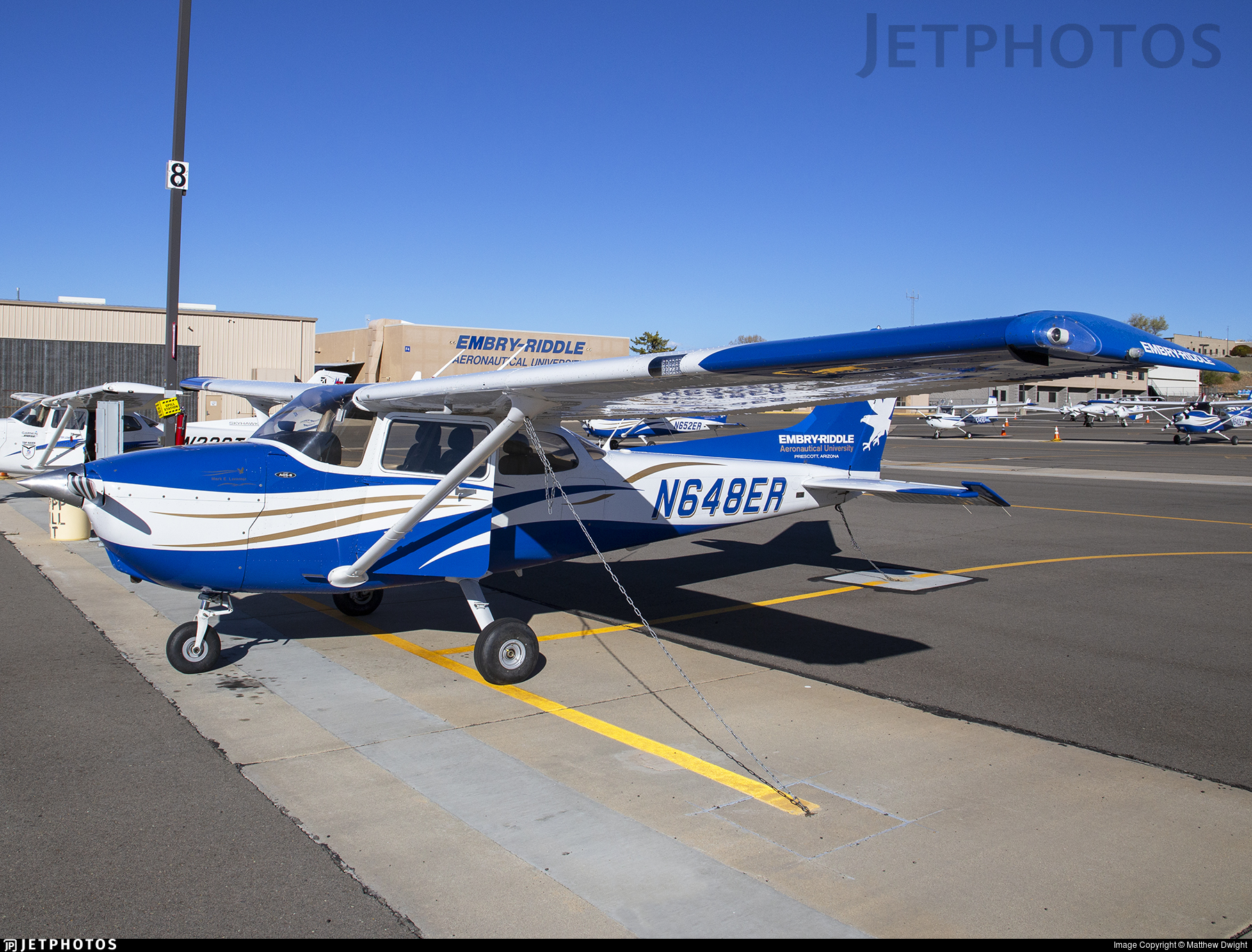 N648ER - Cessna 172S Skyhawk SP - Embry-Riddle Aeronautical University (ERAU)