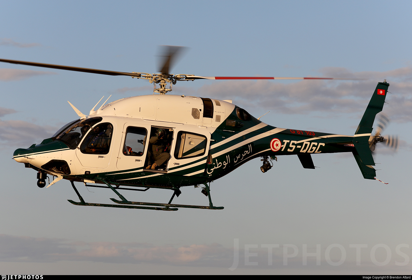 TS-QGC - Bell 429 Global Ranger - Tunisia - National Guard