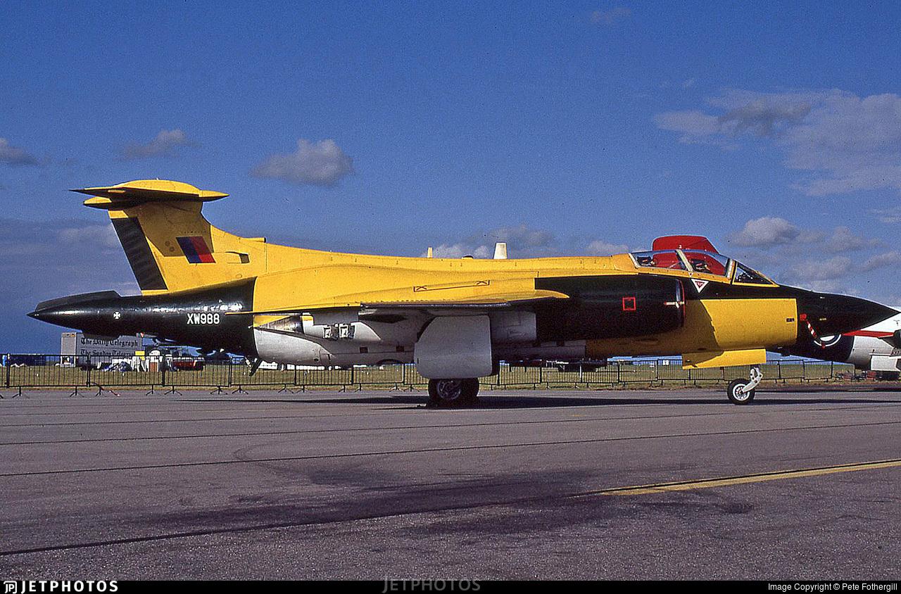 XW988 - Blackburn Buccaneer S.2B - United Kingdom - Royal Air Force (RAF)