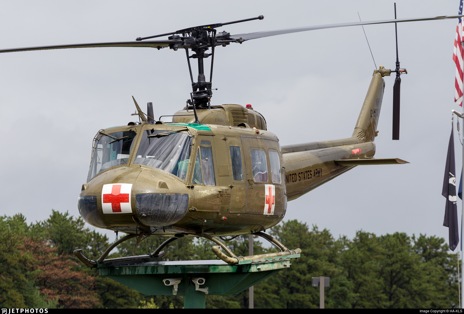 69-15395 - Bell UH-1H Iroquois - United States - US Army
