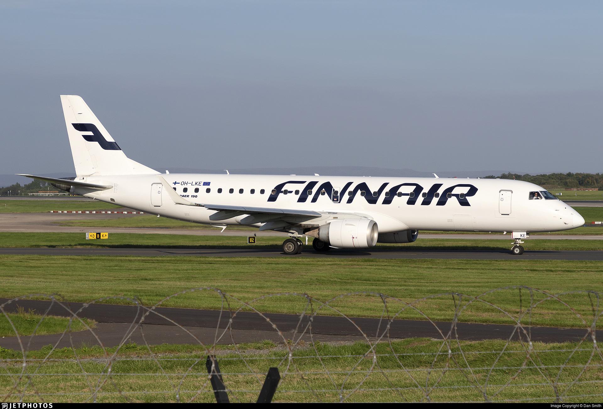 OH-LKE - Embraer 190-100LR - Finnair