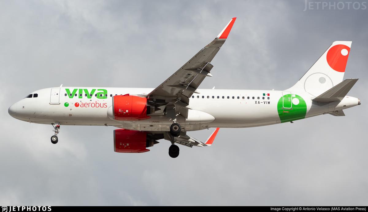 XA-VIW - Airbus A320-271N - VivaAerobus