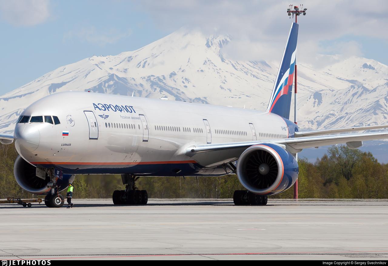 VP-BGF - Boeing 777-3M0ER - Aeroflot