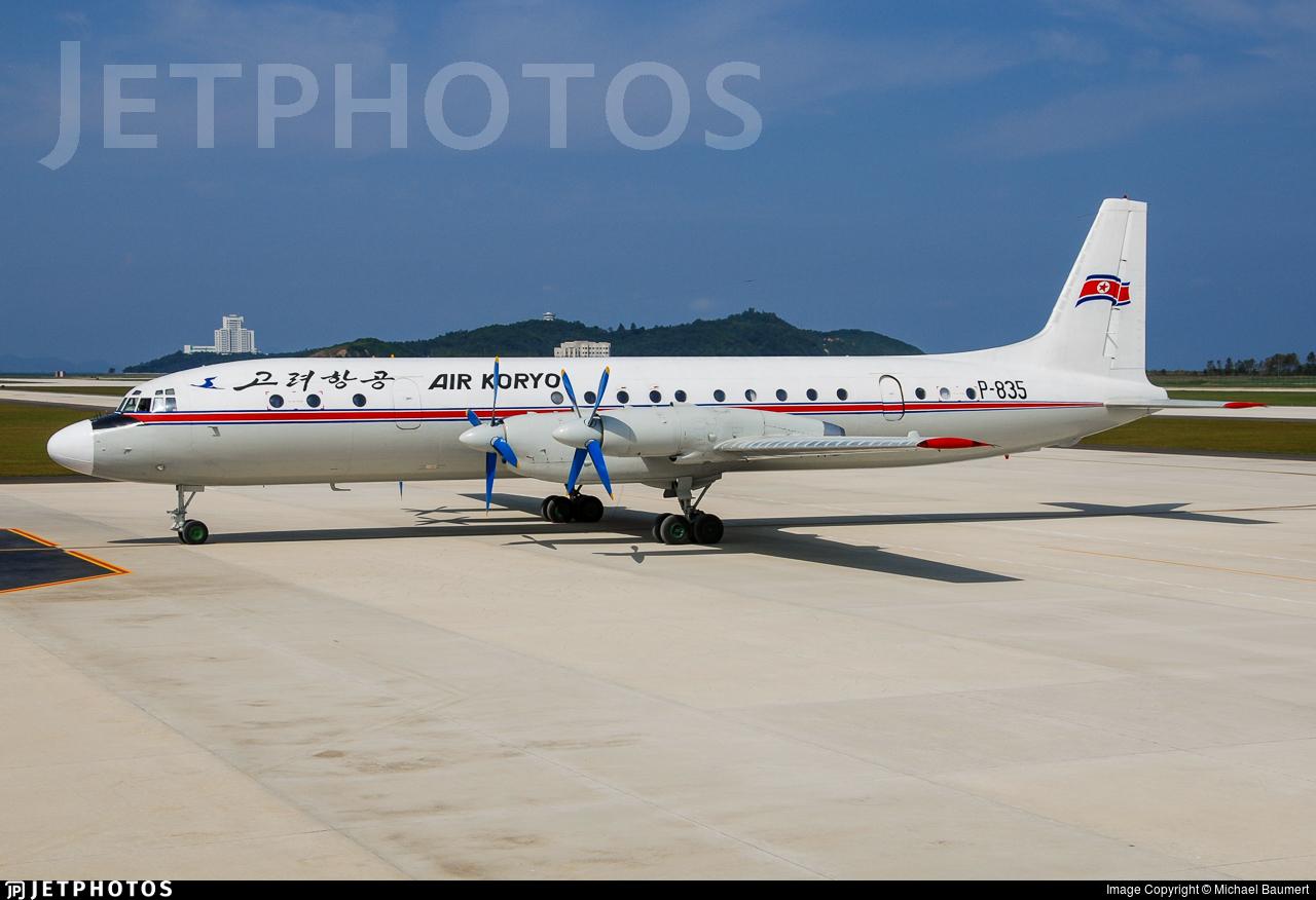 P-835 - Ilyushin IL-18D - Air Koryo