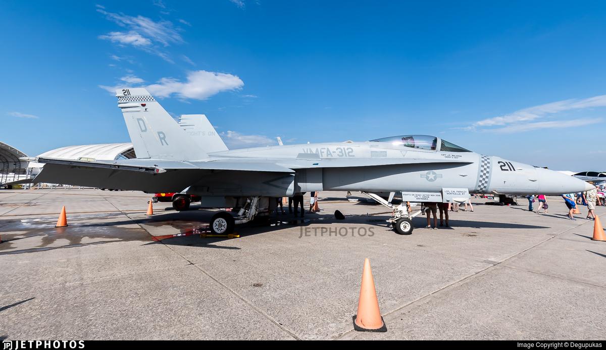 164891 - McDonnell Douglas F-18C Hornet - United States - US Marine Corps (USMC)