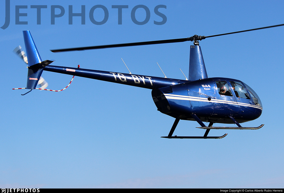 TG-BYT - Robinson R44 Raven - Private