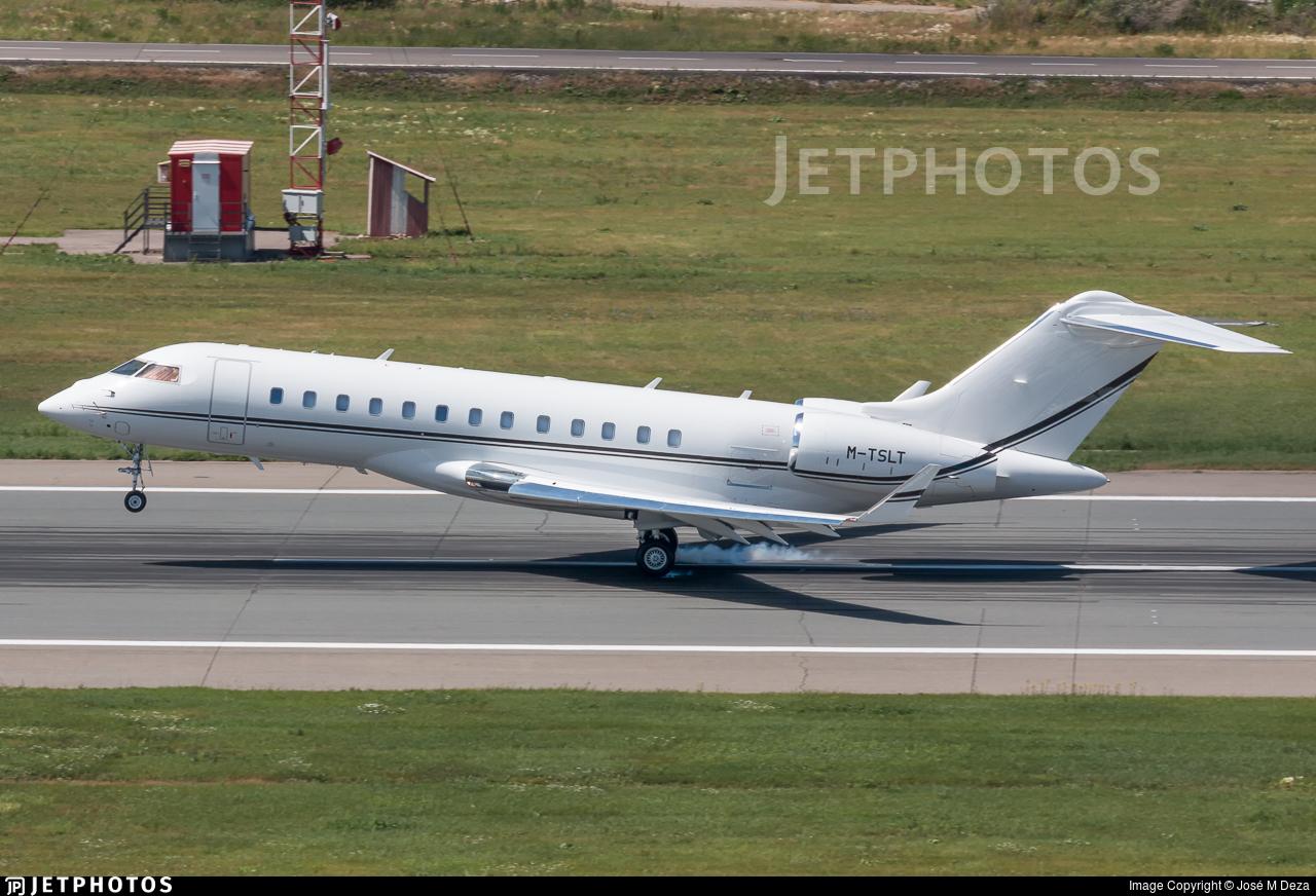 M-TSLT - Bombardier BD-700-1A10 Global 6000 - Private