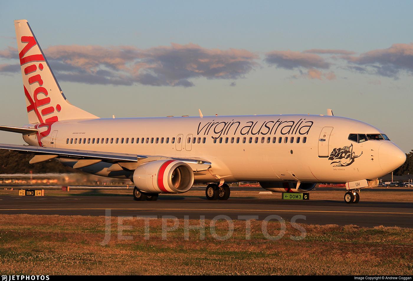 VH-VUH - Boeing 737-8FE - Virgin Australia Airlines
