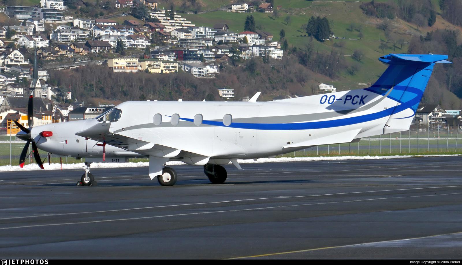 OO-PCK - Pilatus PC-12/47E - European Aircraft Private Club (EAPC)