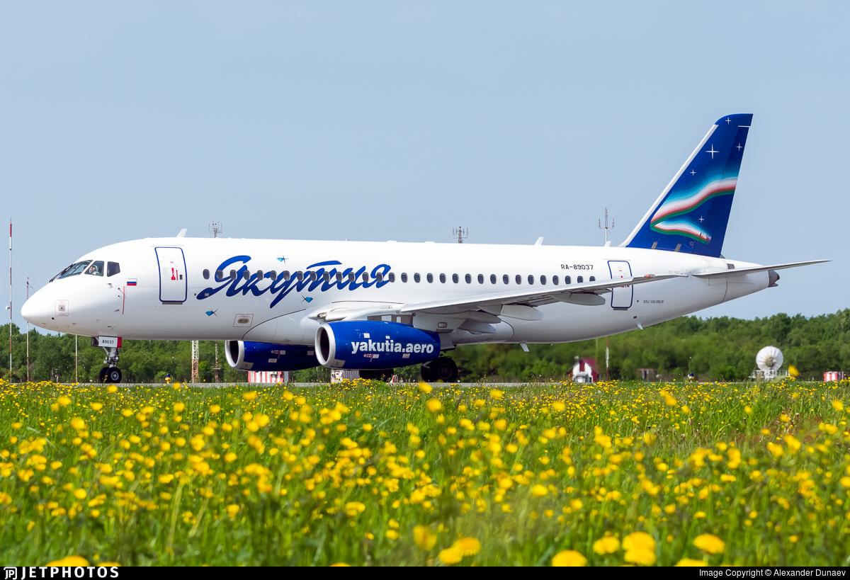 RA-89037 - Sukhoi Superjet 100-95LR - Yakutia Airlines