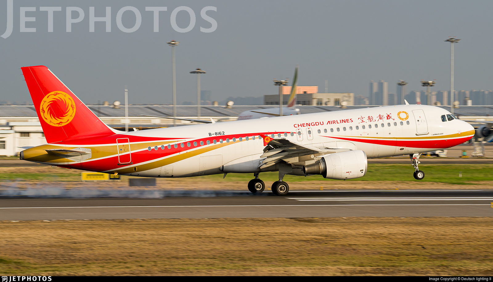 B-8162 - Airbus A320-214 - Chengdu Airlines