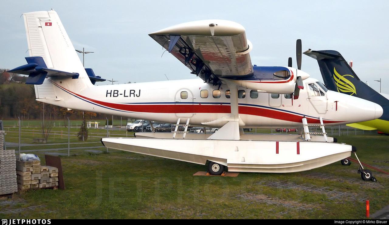 HB-LRJ - De Havilland Canada DHC-6-300 Twin Otter - Private