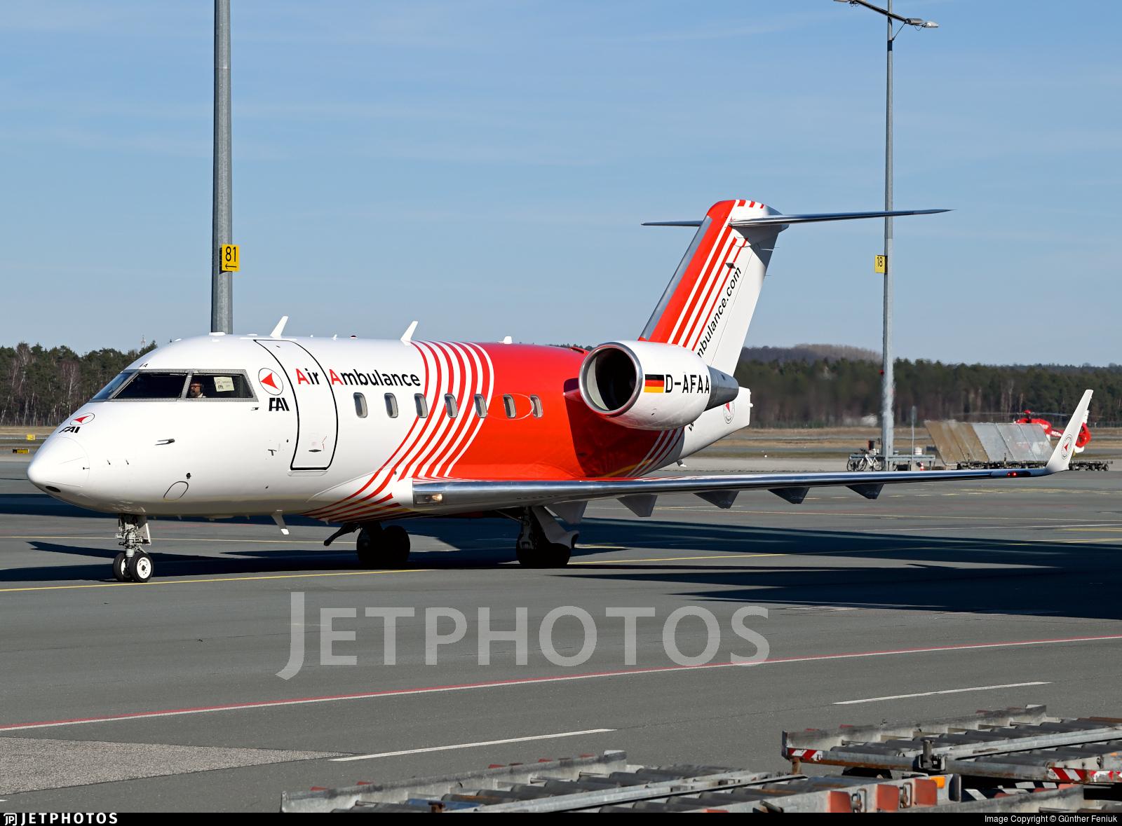D-AFAA - Bombardier CL-600-2B16 Challenger 604 - FAI Flight-Ambulance