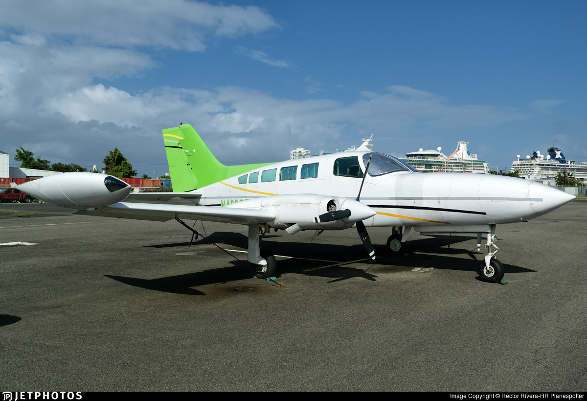 N402GZ - Cessna 402B - Private