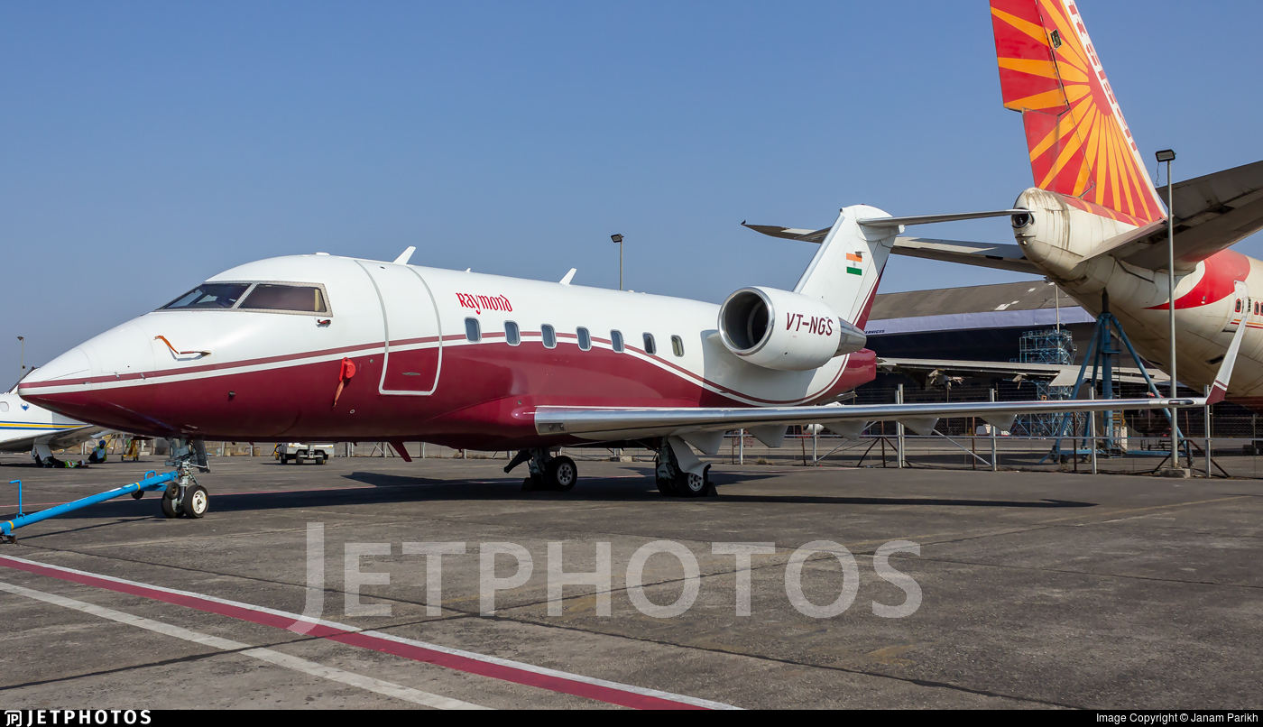 VT-NGS - Bombardier CL-600-2B16 Challenger 604 - Raymond Aviation