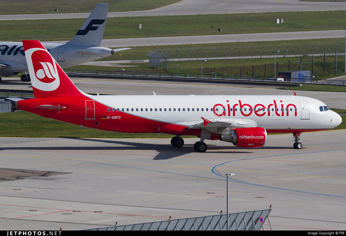 D-ABFO - Airbus A320-214 - Air Berlin