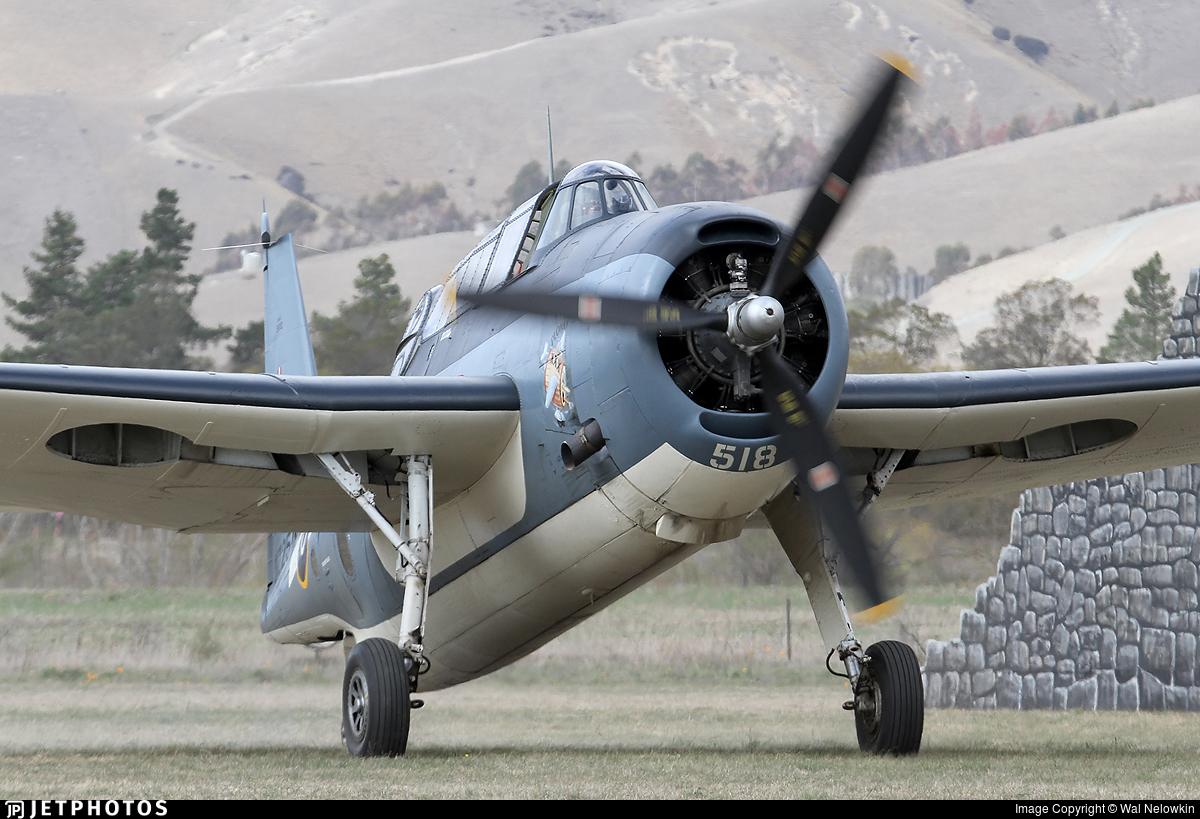 ZK-TBE - General Motors TBM-3E Avenger - Private