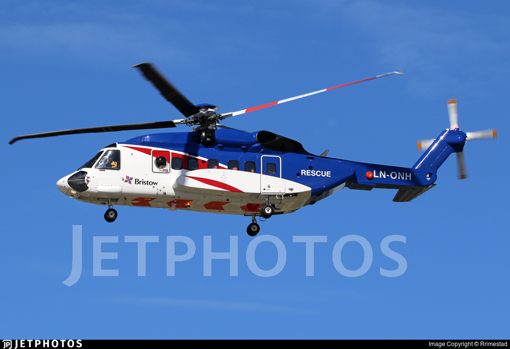 LN-ONH - Sikorsky S-92A Helibus - Bristow Norway