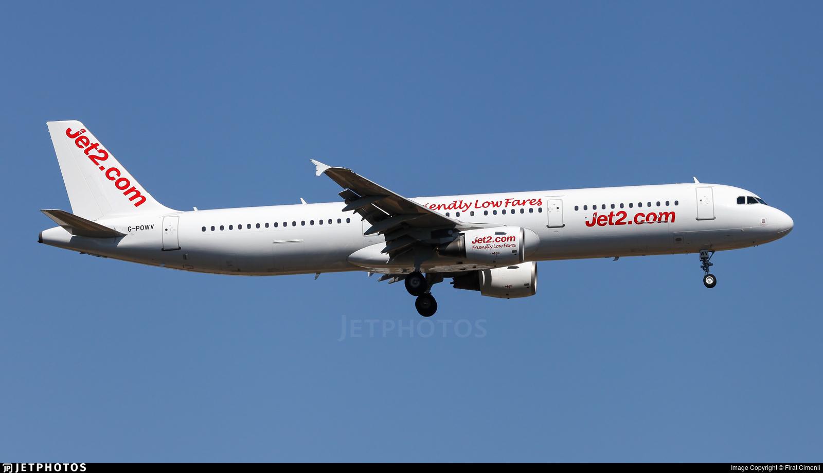 G-POWV - Airbus A321-211 - Jet2.com (Titan Airways)