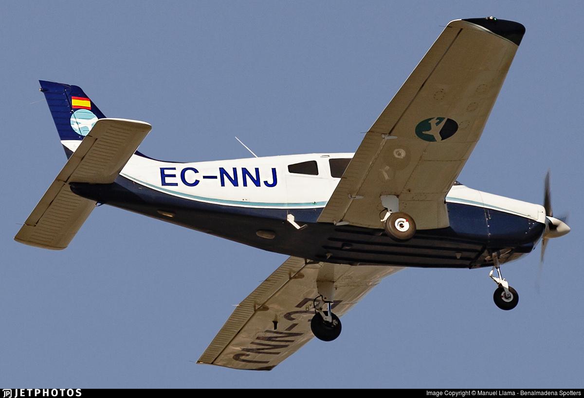 EC-NNJ - Piper PA-28-161 Warrior II - Aerodynamics Málaga