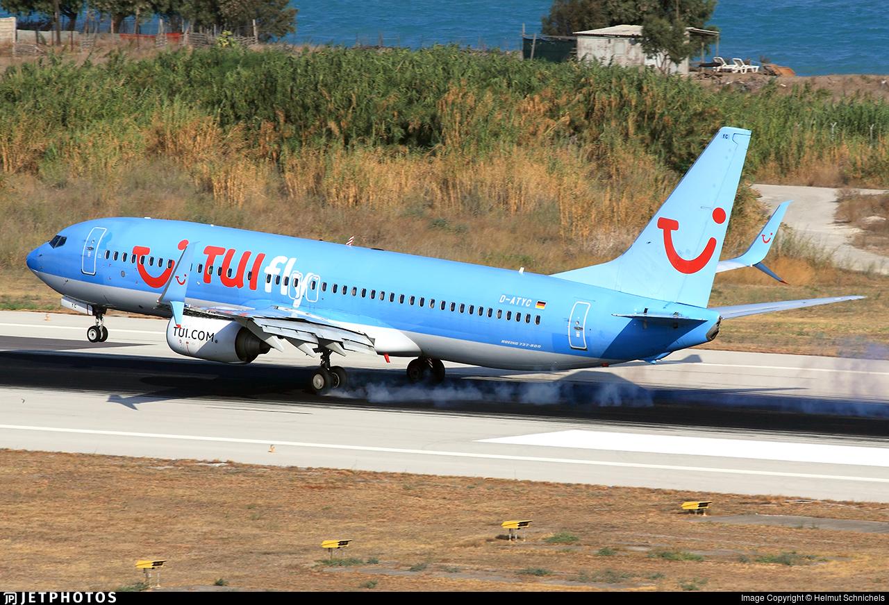 D-ATYC - Boeing 737-8K5 - TUI