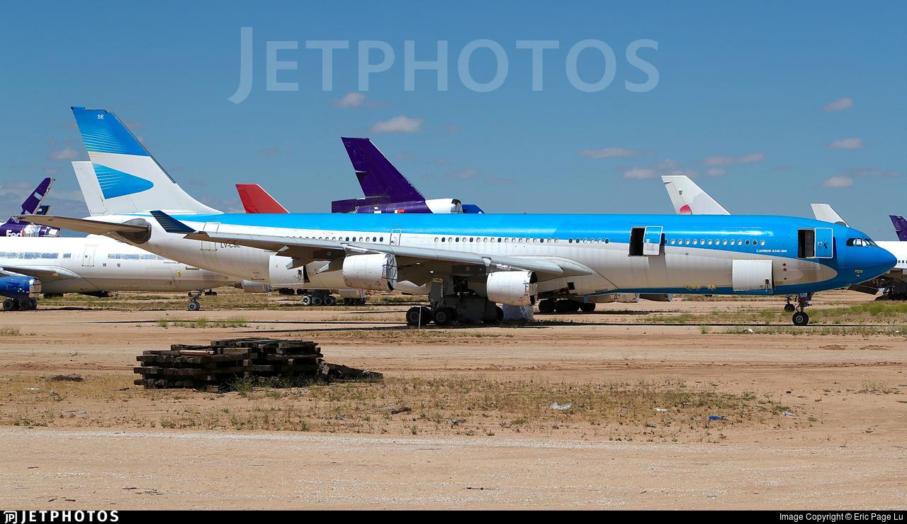 LV-CSE - Airbus A340-313X - Untitled
