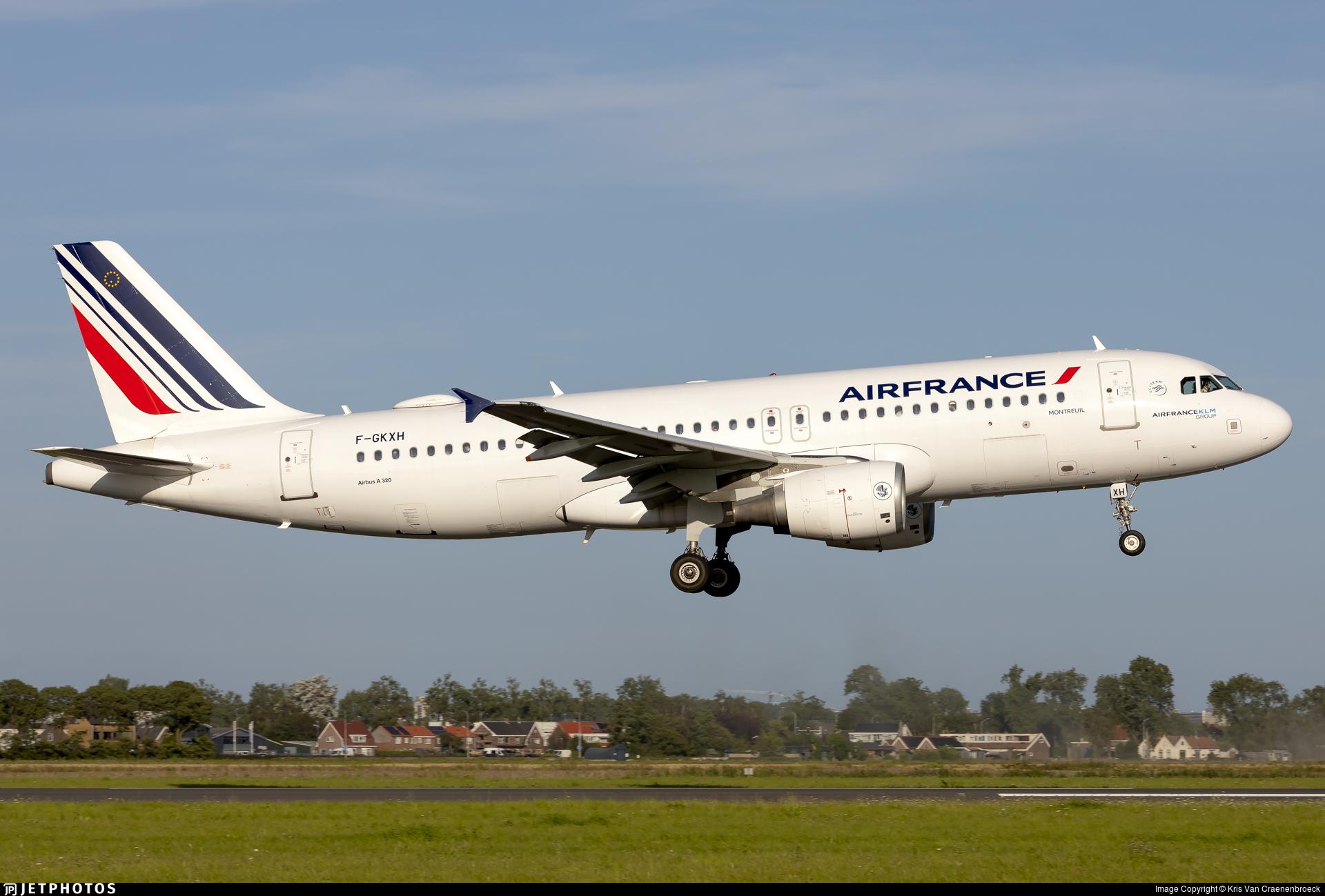 F-GKXH - Airbus A320-214 - Air France