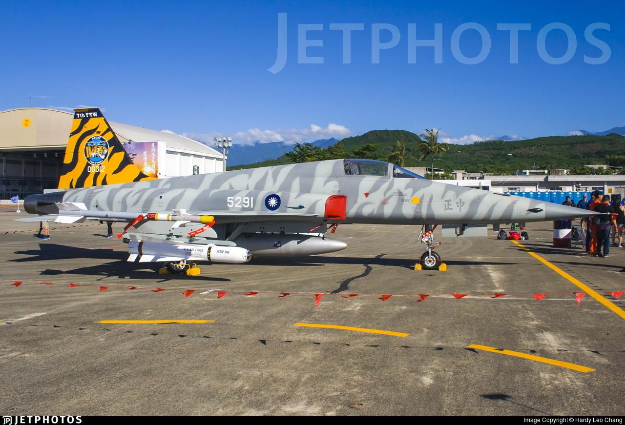 5291 - Northrop F-5E Tiger II - Taiwan - Air Force