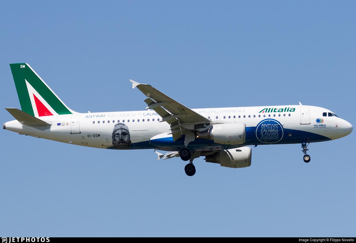 EI-DSM - Airbus A320-216 - Alitalia