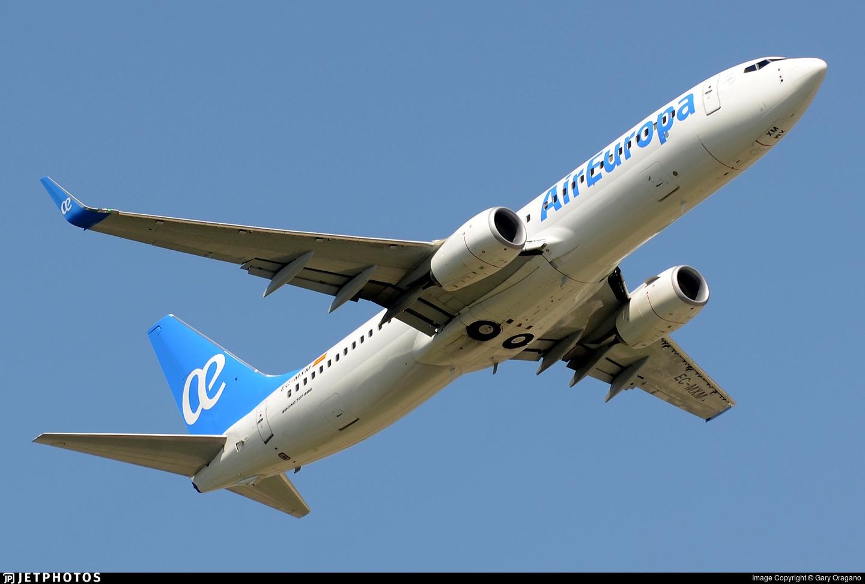 EC-MXM - Boeing 737-85P - Air Europa