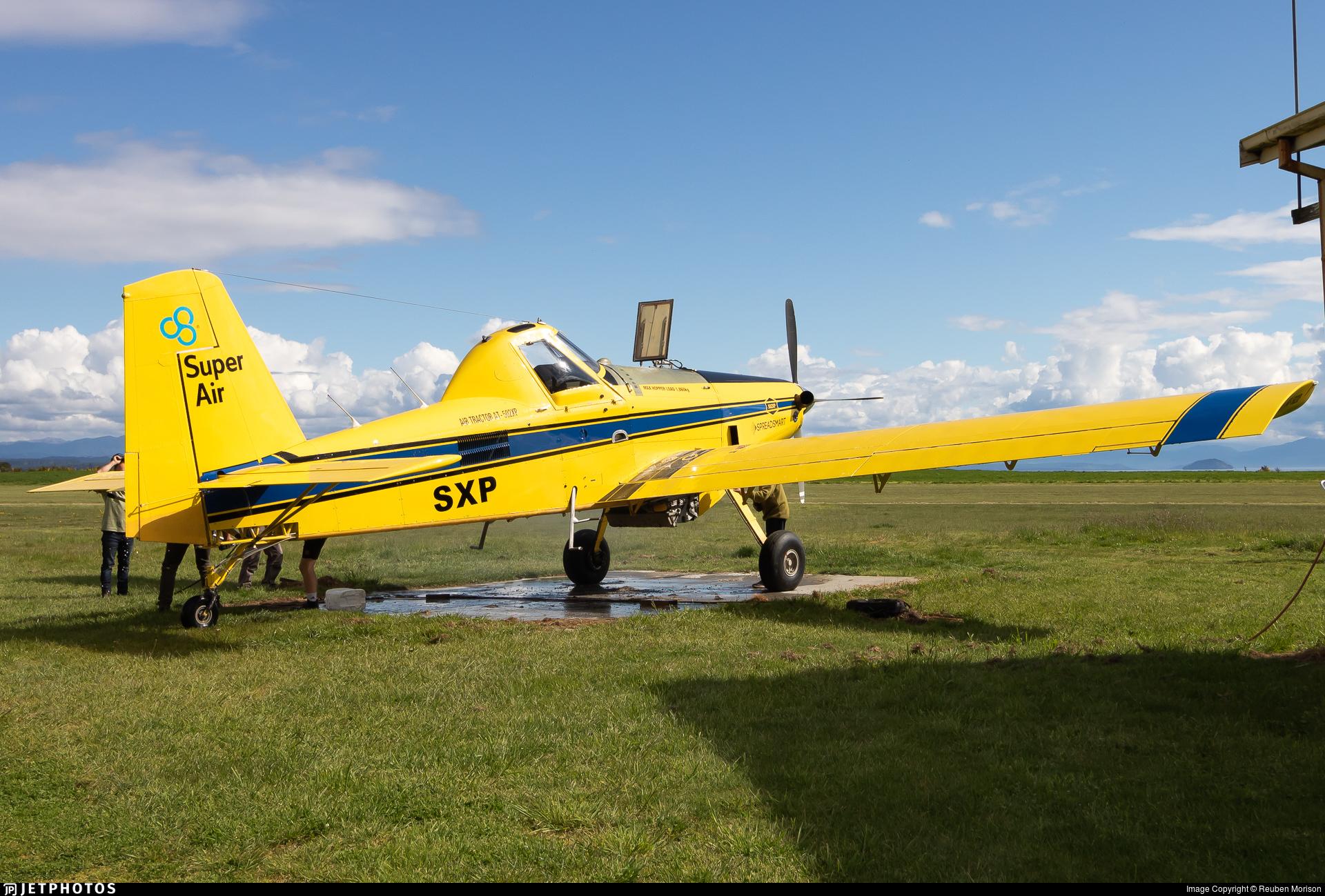 ZK-SXP - Air Tractor 502XP - Super Air
