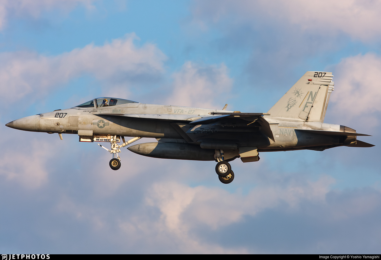 165867 - Boeing F/A-18E Super Hornet - United States - US Navy (USN)