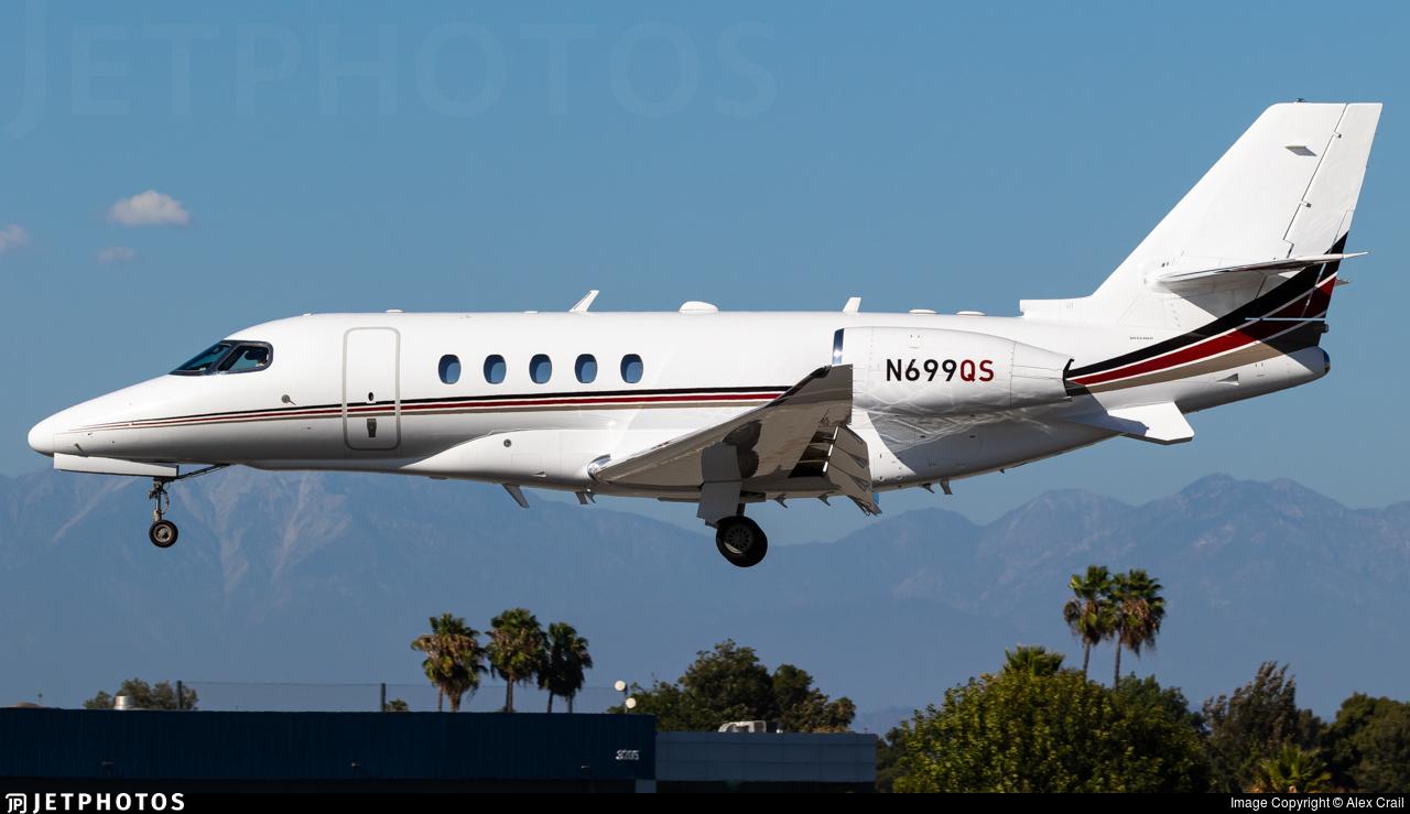 N699QS - Cessna Citation Latitude - NetJets Aviation
