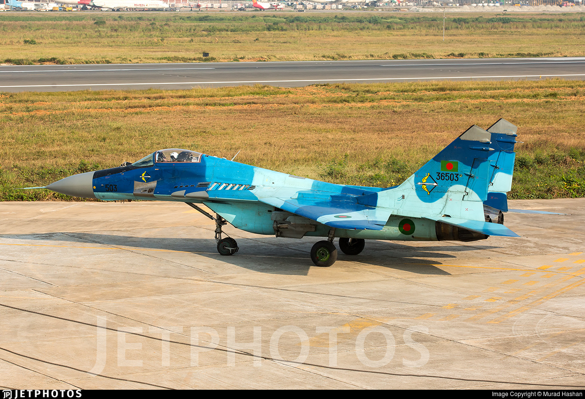 36503 - Mikoyan-Gurevich MiG-29SE Fulcrum C - Bangladesh - Air Force