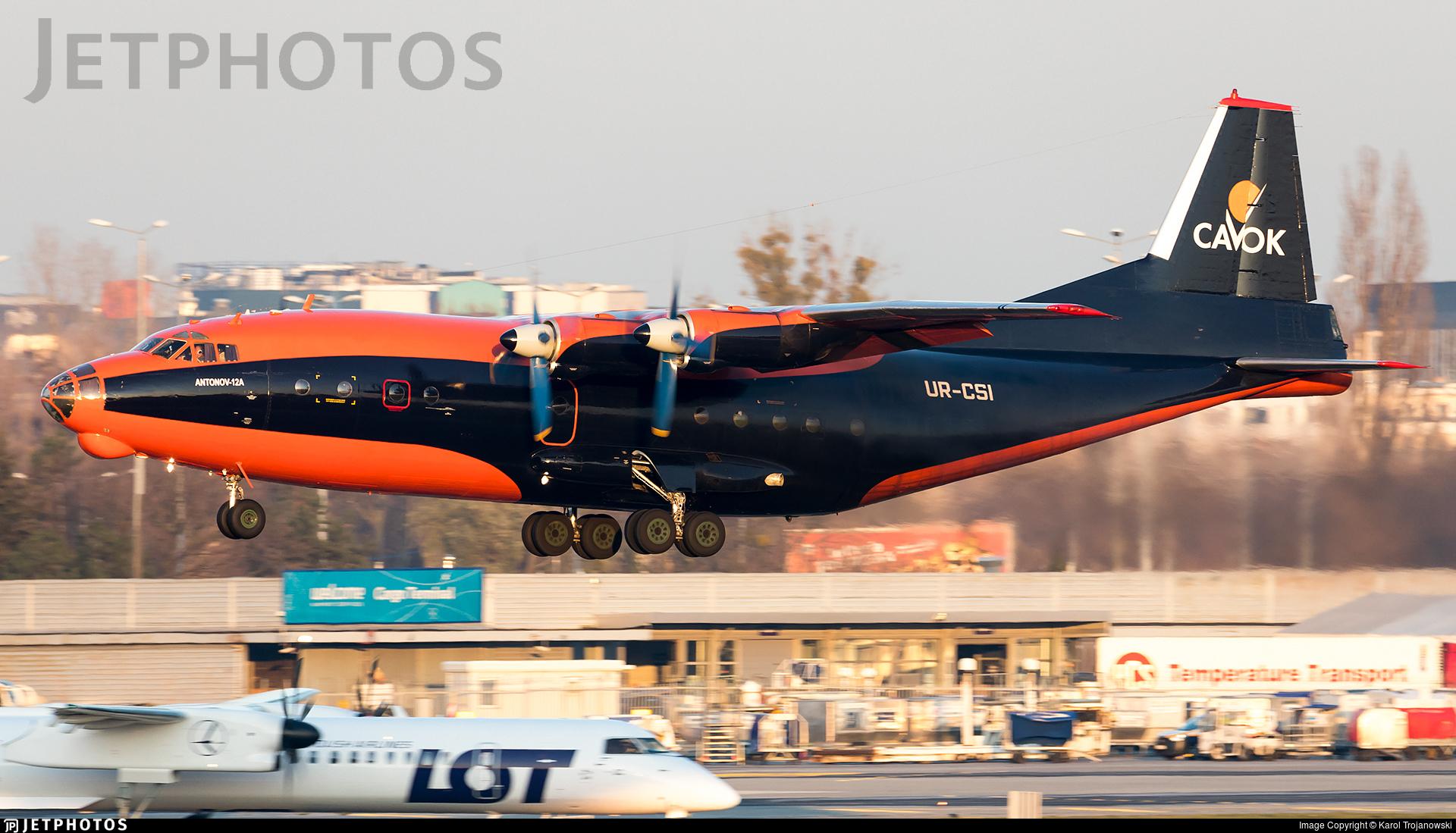 UR-CSI - Antonov An-12A - Cavok Air