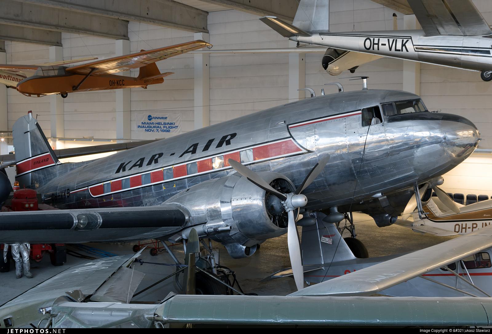 OH-VKB - Douglas DC-3 - Kar-Air