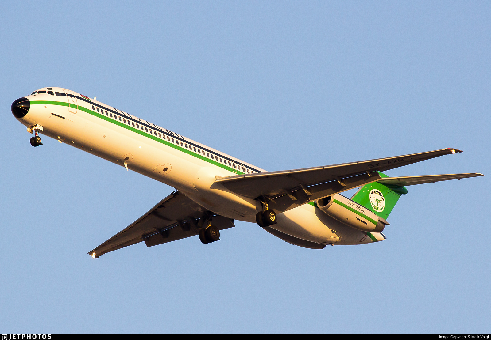 5Y-AXN - McDonnell Douglas MD-82 - African Express Airways