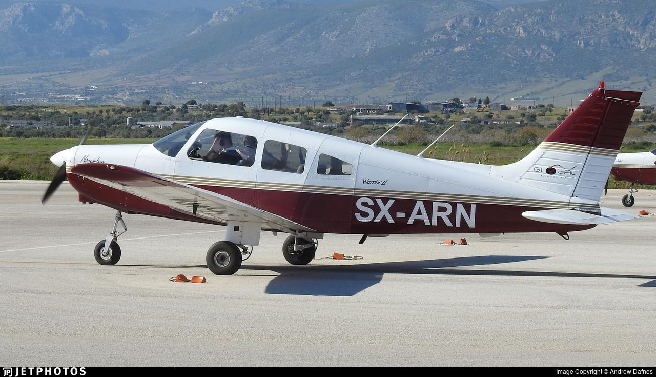 SX-ARN   Piper PA-28-161 Warrior II   Global Aviation Flight