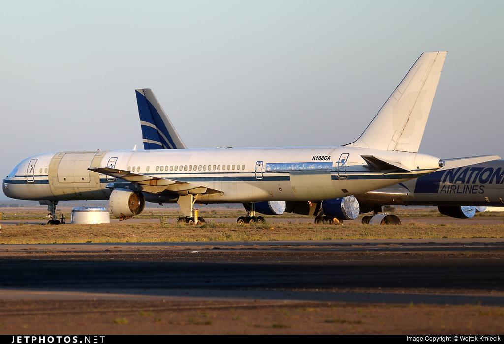 N168CA - Boeing 757-2Z0(SF) - National Airlines